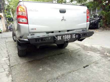 Triton 2015+ BUMPER BELAKANG MITSUBISHI ALL NEW TRITON US STYLE FOREST 2 bumper_belakang_bullbar_belakang_palang_belakang_mitsubishi_all_new_triton_fsu_style_forest_2