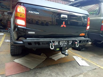 Triton 2015+ BUMPER BELAKANG MITSUBISHI ALL NEW TRITON US STYLE FOREST 3 bumper_belakang_bullbar_belakang_palang_belakang_mitsubishi_all_new_triton_fsu_style_forest_3