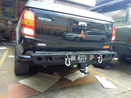 Triton 2015+ BUMPER BELAKANG MITSUBISHI ALL NEW TRITON US STYLE FOREST 4 bumper_belakang_bullbar_belakang_palang_belakang_mitsubishi_all_new_triton_fsu_style_forest_4