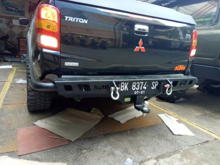 Triton 2015+ BUMPER BELAKANG MITSUBISHI ALL NEW TRITON US STYLE FOREST 5 bumper_belakang_bullbar_belakang_palang_belakang_mitsubishi_all_new_triton_fsu_style_forest_5