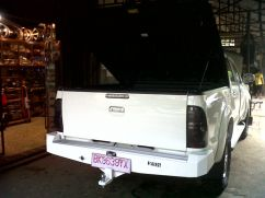 Ford Ranger 2011+ BUMPER BELAKANG MODEL PAPAN FORD RANGER T6 ford ranger model papan baru 2