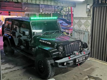 Jeep Wrangler JK/TJ LIGHT BAR JEEP JK WITH WILDFOREST MULTIFUNCTION LIGHT BAR 50 INCH TAS4X4 1 jeepjk_2
