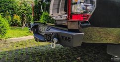 Triton MR REARBAR WILDFOREST TRITON MR TAS4X4 rearbar wildforest triton mr tas4x4 medan 1