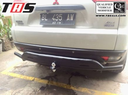 Pajero sport 2009 on TOWING BELAKANG FOREST OLD PAJERO SPORT TAS4X4 1 towing_pajero_old