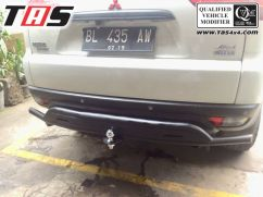 Pajero sport 2009 on TOWING BELAKANG FOREST OLD PAJERO SPORT TAS4X4 towing pajero old