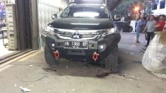 Pajero Sport All New WILD FOREST BUMPER DEPAN ALL NEW PAJERO SPORT TAS4X4 wild forest bumper depan all new pajero sport tas4x4 2