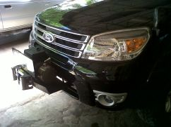 Ford Everest WINCH IRONMAN DAN TAPAK FORD EVEREST winch ironman tapak ford everest 1